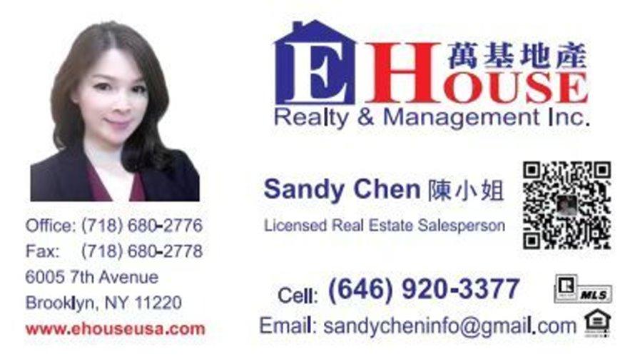 纽约房地产经纪人 陈小姐
