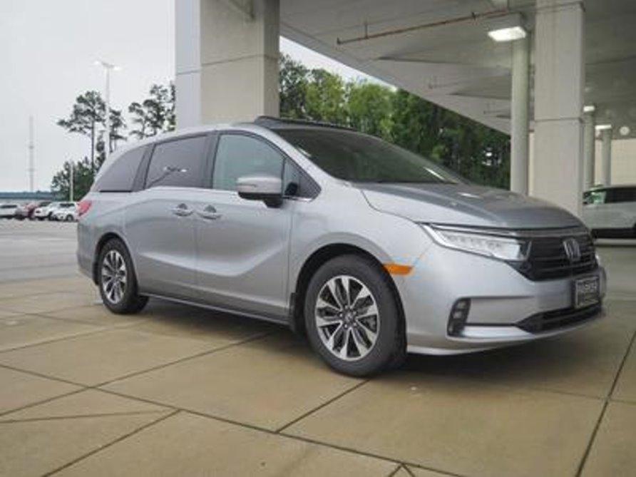 新车, 2022 Honda odyseey exl 全新改款❤️ 高配 有皮椅天窗 银色 只有一部 手慢无