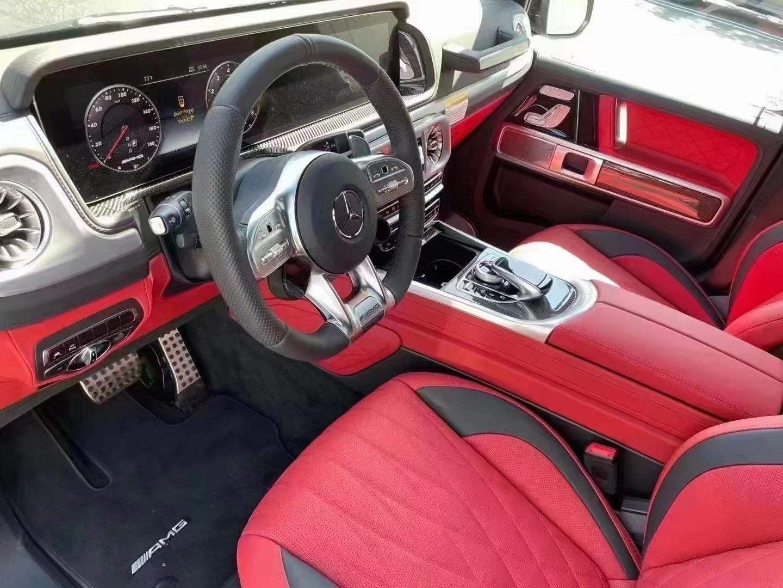 2021 Mercedes benz AMG G63 100miles 外灰内红